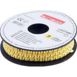 Маркер кабельный, 3-6 кв.мм, 7, 350 шт e.marker.stand.3.6.7