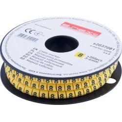 Маркер кабельный, 3-6 кв.мм, 8, 350 шт e.marker.stand.3.6.8