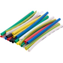 Набор термоусадочных трубок, 8 цветов, 100 мм, 24 шт. e.termo.stand.set.4.2