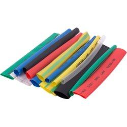 Набор термоусадочных трубок, 8 цветов, 4/2, 6/3, 8/4, 10/5, 100 мм, 32 шт. e.termo.stand.set. 4.6.8.10