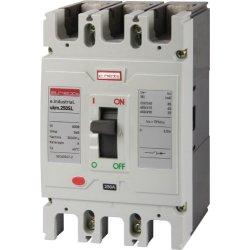 Трехполюсный силовой автоматический выключатель, 3р, 175А e.industrial.ukm.250SL.175