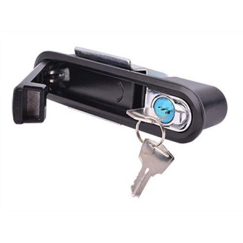 Фото Замок-ручка с кнопкой открытия IP54 для электрощита e.lock.05 Электробаза