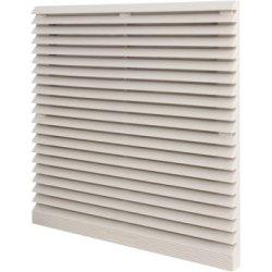 Решетка с фильтром для вентилятора электрощитового 120х120мм e.climatboard.04