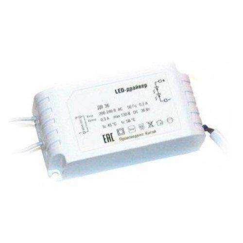 Фото Блок питания для светильника светодиодного 36Вт 350мА e.LED Surface 600.Driver.36 Электробаза