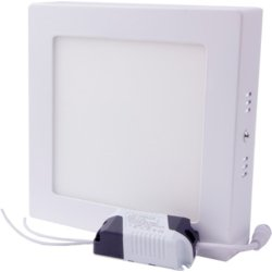 Светильник накладной светодиодный e.LED.MP.Square.S.12.4500. квадрат 12Вт 4500К 840Лм