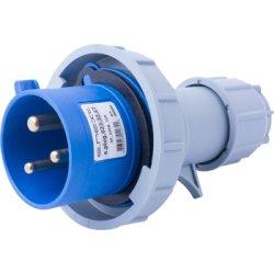 Силовая вилка переносная e.plug.023.32.67, 3п., 230В, 32А, IP 67