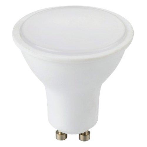 Фото Лампа светодиодная 5Вт 4000К e.LED.lamp.GU10.5.4000 Электробаза