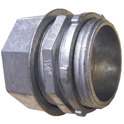 Фото Ввод металлический, цанговый e.industrial.pipe.dir.collet.1/2