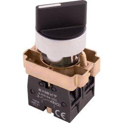 Переключатель на 3 фиксированых положения 1-0-2 стандартная рукоятка, 2NO e.mb.bd33