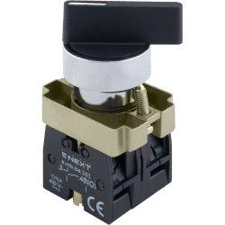 Переключатель на 3 фиксированых положения 1-0-2 удлененная рукоятка, 2NO e.mb.bj33