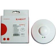 Датчик движения микроволновой e.sensor.mw.700.white (белый) 360° IP44