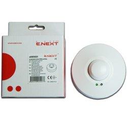 Датчик движения микроволновой 360° IP44 e.sensor.mw.700.white (белый)