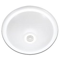 Светильник с датчиком движения 360° IP20 потолочный e.sensor.lum.78.e27.white (белый)