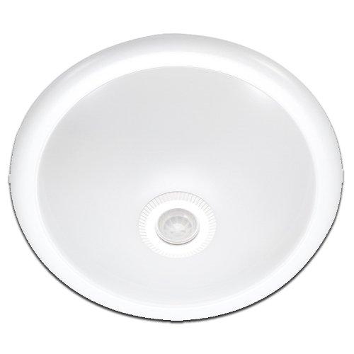 Фото Светильник потолочный с датчиком движенияe.sensor.lum.78.e27.white (белый) 360° IP20 Электробаза