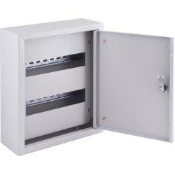 Щит распределительный накладной на 24 модуля с замком e.mbox.pro.n.24z IP31