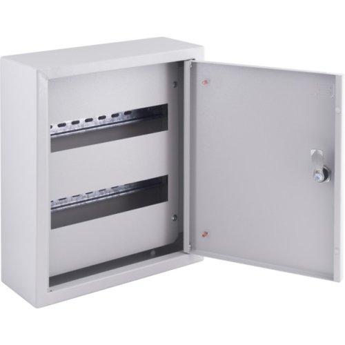 Фото Щит распределительный накладной на 24 модуля с замком e.mbox.pro.n.24z IP31 Электробаза