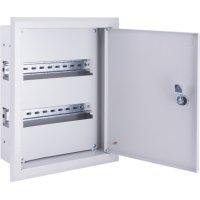 Фото Щиток для автоматов встраиваемый на 18 модулей с замком e.mbox.pro.w.18z IP31