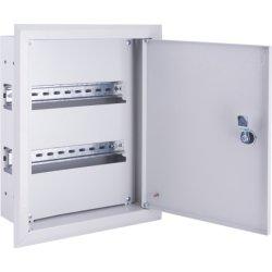Щиток для автоматов встраиваемый на 18 модулей с замком e.mbox.pro.w.18z IP31