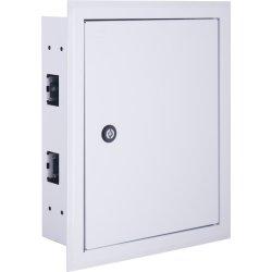 Щиток для автоматов встраиваемый на 24 модуля с замком e.mbox.pro.w.24z IP31