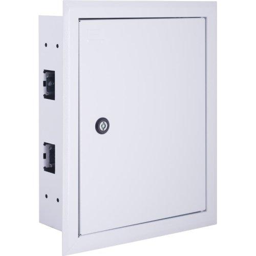 Фото Щиток для автоматов встраиваемый на 24 модуля с замком e.mbox.pro.w.24z IP31 Электробаза