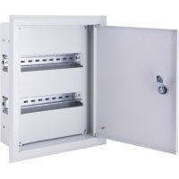 Фото Щиток для автоматов встраиваемый на 72 модуля с замком e.mbox.pro.w.72z IP31