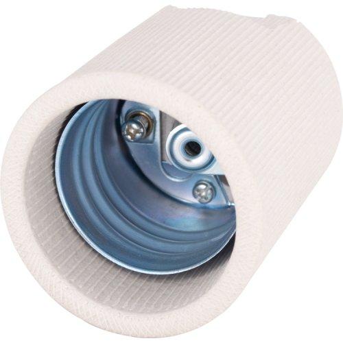 Фото Цоколь керамический Е40 e.lamp socket.Е40.cer Электробаза