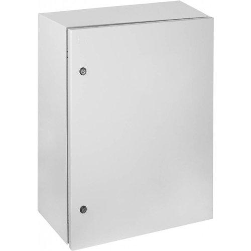 Фото Бокс металлический монтажный IP65 с монтажной панелью (1200х800х300) e.mbox.industrial.p.120.80.30z Электробаза