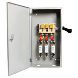 Щит электрический ЯПРП-400А рубильник перекидной BP32-37B71250 IP54