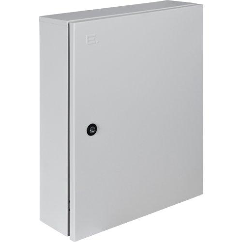 Фото Шкаф металлический IP54 навесной на 54 модуля с замком e.mbox.pro.n.54z