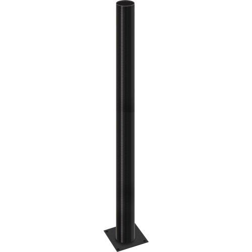 Фото Фонарный столб стальной высота 1000мм диаметр 60мм черная e.street.bollard.st.1000.black Электробаза