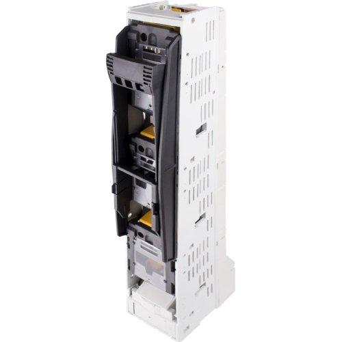 Фото Выключатель-разъединитель под предохранитель вертикального исполнения, габарит 00, 3 полюса, 160А e.fuse.fsvd.160 Электробаза