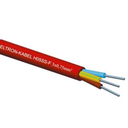 Фото Провод термостойкий H05SS-F 2x0,5 Электробаза