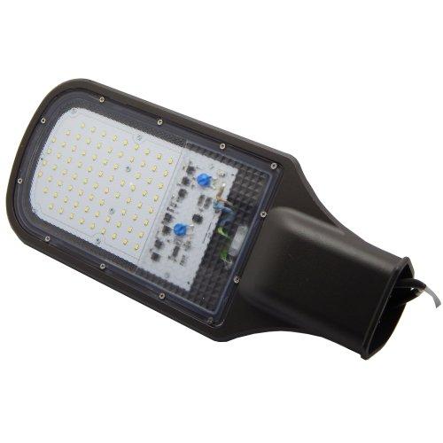 Фото Уличный светильник светодиодный на опору e.LED.street.eco.50.4500 50Вт 4500К IP66 Электробаза