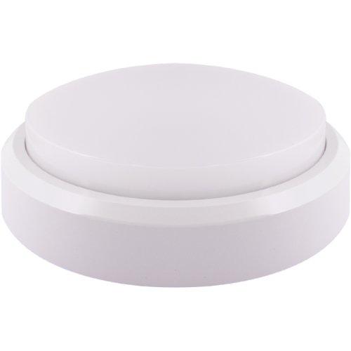 Фото Влагозащищенный лед светильник e.LED.rondo.8.4500.white 8Вт 4500К IP54 белый Электробаза