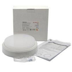 Светильник лед влагозащищенный e.LED.rondo.12.4500.white 12Вт 4500К IP54 белый