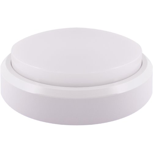 Фото Лед светильник наклданой влагозащищенный e.LED.rondo.18.4500.white 18Вт 4500К IP54 белый Электробаза