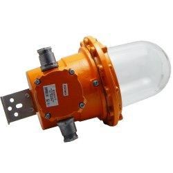 Светильник взрывозащищенный РСП 18Bex-125-101 1ЕхdeIICT4 ДРЛ125Вт IP65 транзитное подключение универсальный кронштейн без решетки без отражателя