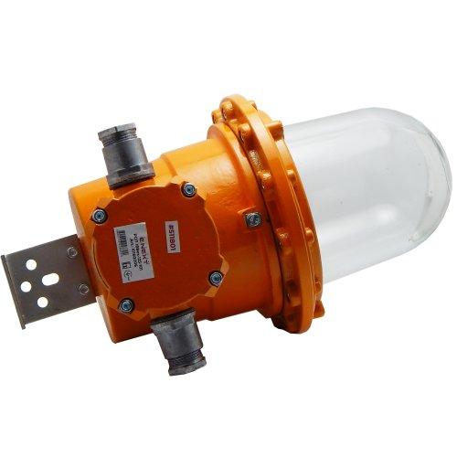 Фото Светильник взрывозащищенный РСП 18Bex-125-101 1ЕхdeIICT4 ДРЛ125Вт IP65 транзитное подключение универсальный кронштейн без решетки без отражателя Электробаза