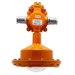 Светильник взрывозащищенный светодиодный ДСП 21Вех-20-101 1ExdIIBT6 транзитное подключение крепление на трубу 3/4 без решетки без отражателя