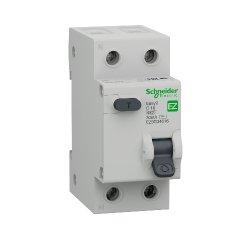 Диф автоматический выключатель 16А 30мА 1Р+N Шнайдер Easy9