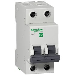 Автоматический выключатель Easy9 2п 6А Х-кА В Шнайдер