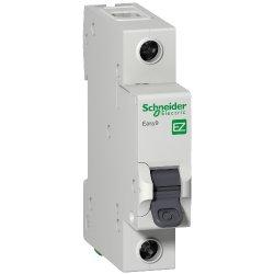 Автоматический выключатель Шнайдер 1р 25А Х-кА С Easy9