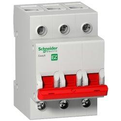 Выключатель нагрузки 3Р 63А 5кА Schneider Easy9