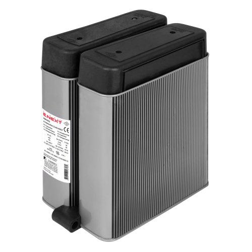 Фото Конденсатор трифазний плоский e.capacitor.3.40.400.f, 40 кВАр, 400В Электробаза