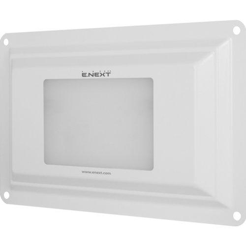Фото Світильник світлодіодний універсальний e.LED.univ.8.white, 8Вт, IP54, білий Электробаза