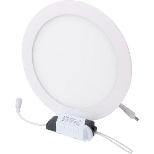 Фото Світильник світлодіодний вбудов. e.LED.MP.Round.R.24.4500, коло, 24Вт, 4500К, 1680Лм Электробаза