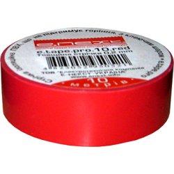 Стрічка ізоляційна buildnext.tape.20.red, червона (20м)