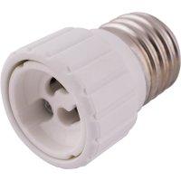 Фото Перехідник e.lamp adapter.Е27/GU10.white, з патрону Е27 на G