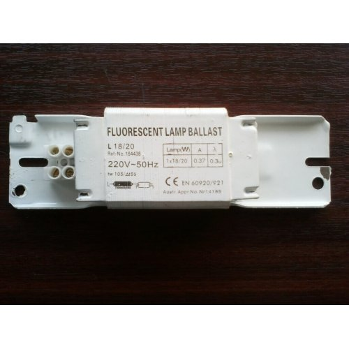 Фото Балласт 20W 220V электромагнитный Электробаза