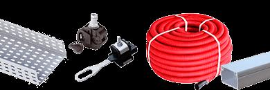 Фото Системы прокладки кабеля